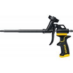 Пистолет для монтажной пены Stayer. Black Pro, металлический корпус, тефлоновое покрытие