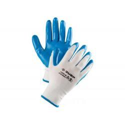 Перчатки маслостойкие Мастер, с нитриловым покрытием, размер S (7)