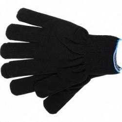 Перчатки нейлон, 13 класс, чёрные, XL, артикул 67843