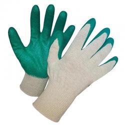 Перчатки хозяйственные, с латексной заливкой
